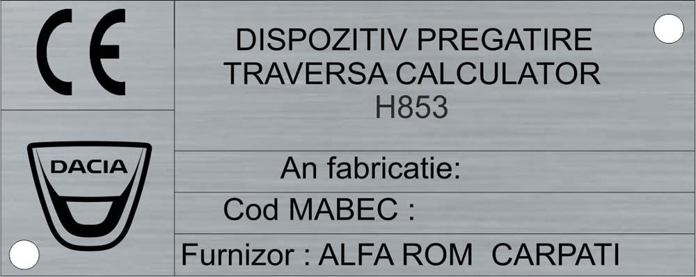 aluminiu natur mat (alfarom)